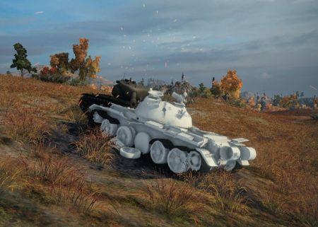 белые трупы танков World of Tanks